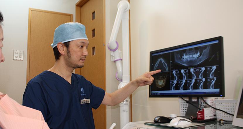 奈良・宇陀市の松田歯科医院ではきめ細やかなカウンセリングと丁寧な説明を行います