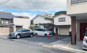奈良・宇陀市の松田歯科医院の駐車場